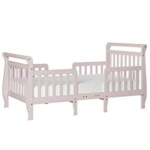 Dream On Me Emma 3 in 1 Convertible Toddler Bed, Blush ...