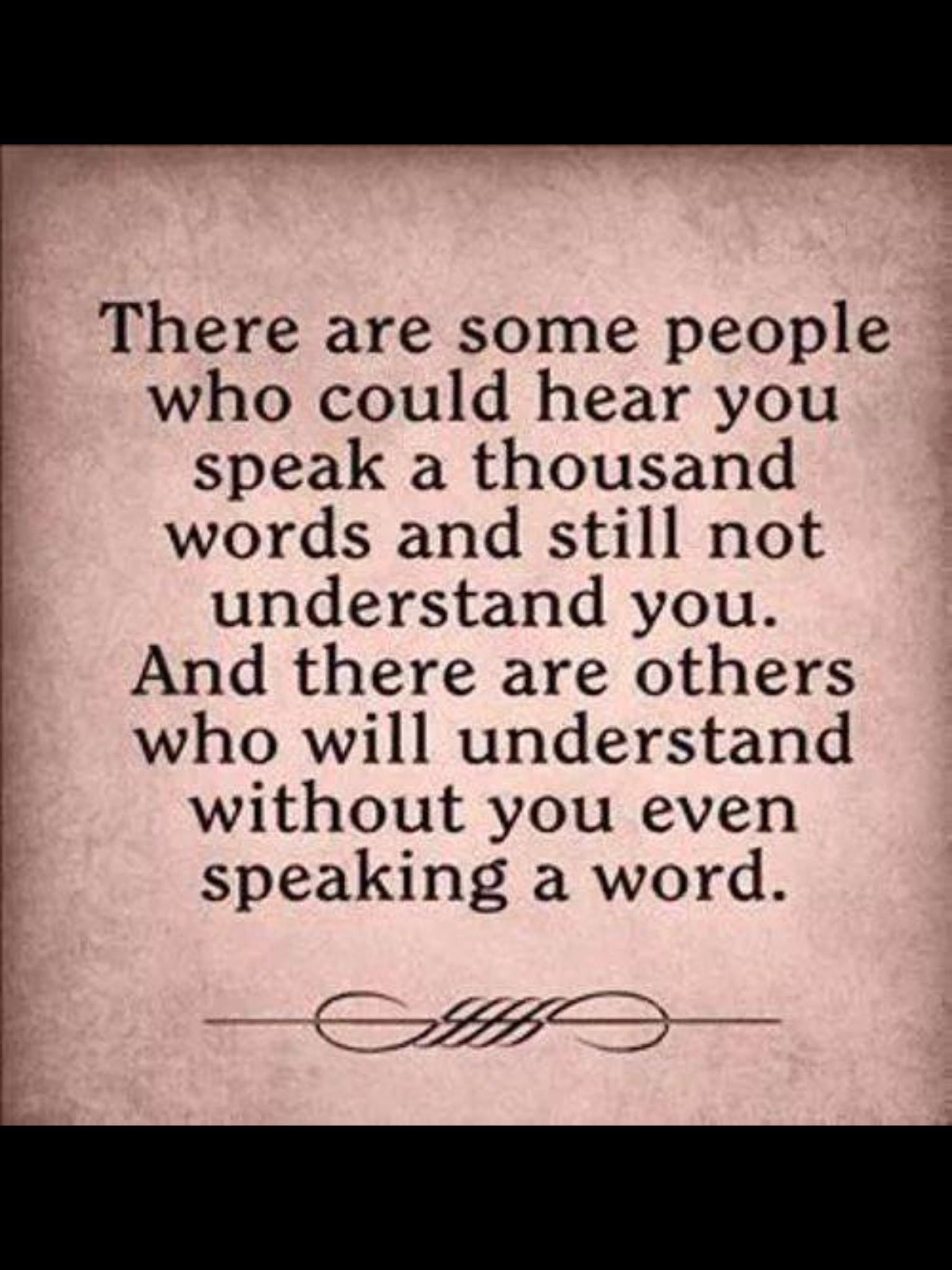Thankful for those who understand me and love me Words