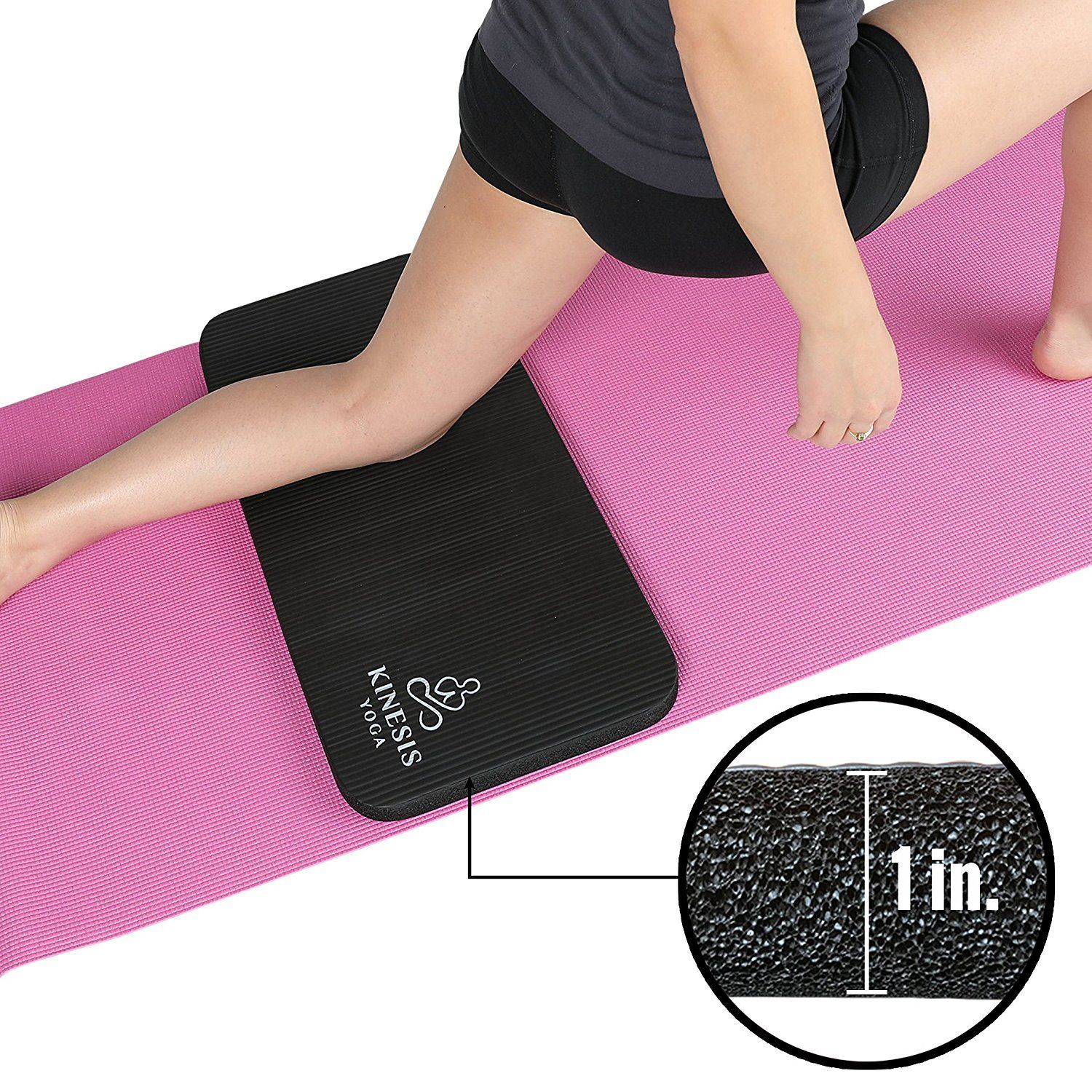 Kinesis Yoga Knee Pad Cushion Extra Thick 1 W Free Bag You Can Find More Details By Visiting The Image Link This Is An Af Yoga Pad Knee Pads Free Bag