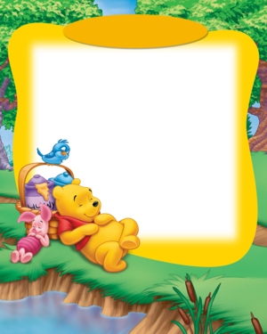 Photo Frames With Winnie The Pooh School Project Winnie The Pooh