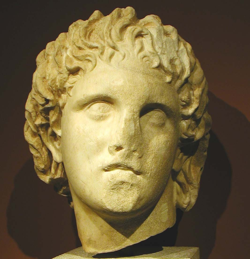 lysippos alexander the great