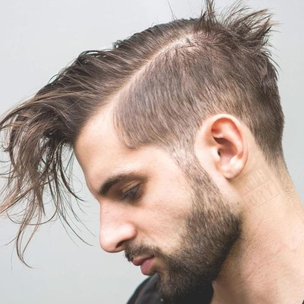 Awesome 48 Fantastic Hairstyles Ideas For Men With Thin Hair In 2020 Thin Hair Men Hairstyles For Thin Hair Long Thin Hair