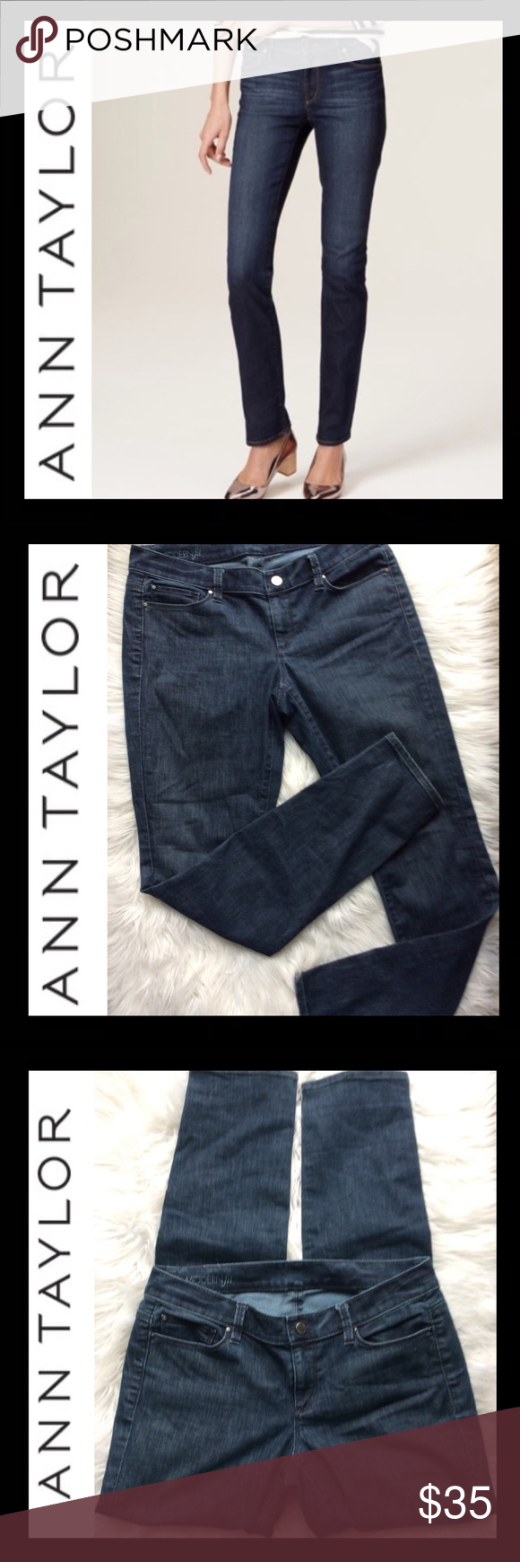 Ann Taylor Modern Fit Jeans In 2020 Jeans Fit Modern Fit Ann Taylor