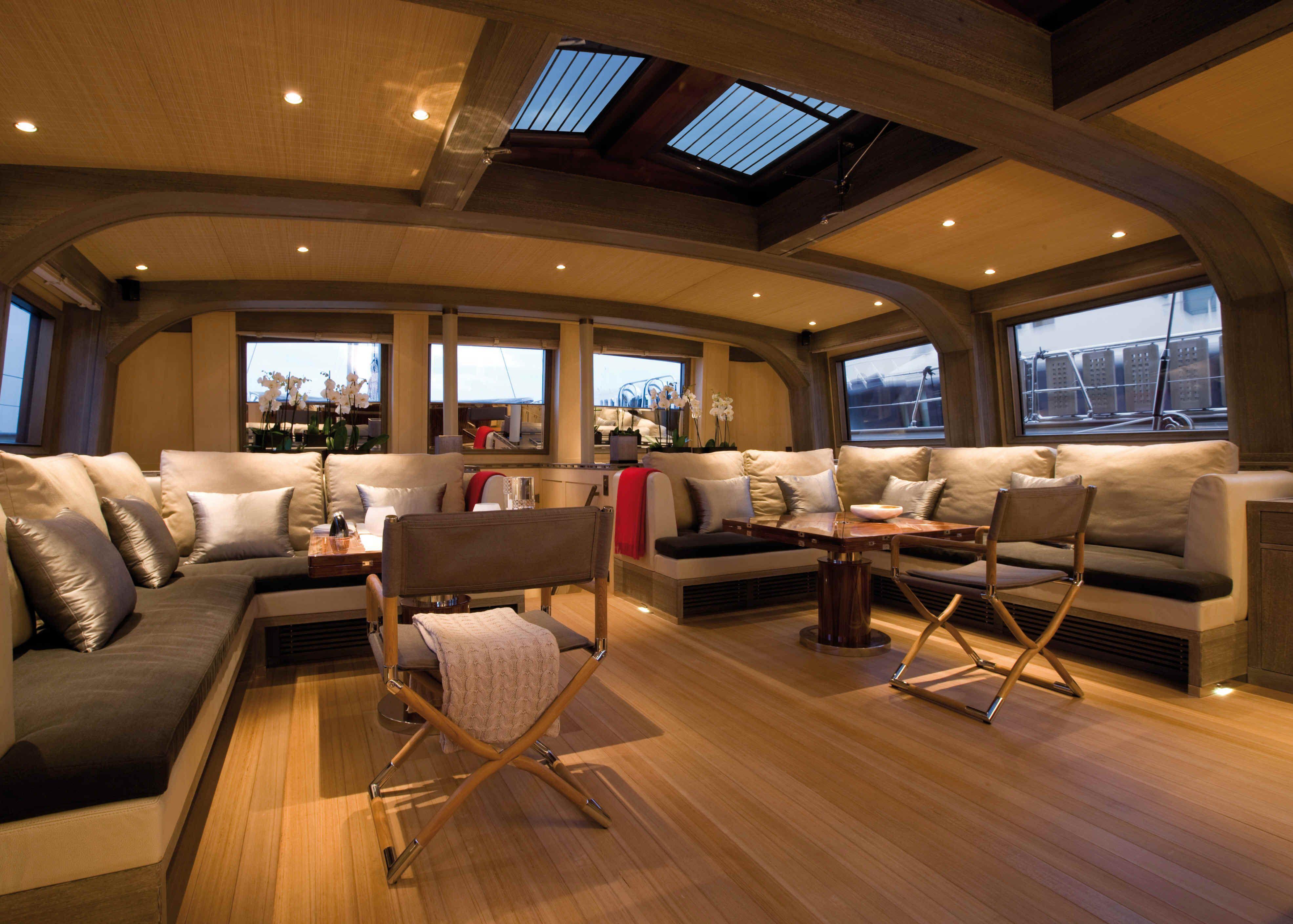 Sailing Yacht Roxane A Su Marine Superyacht Luxury Yachts