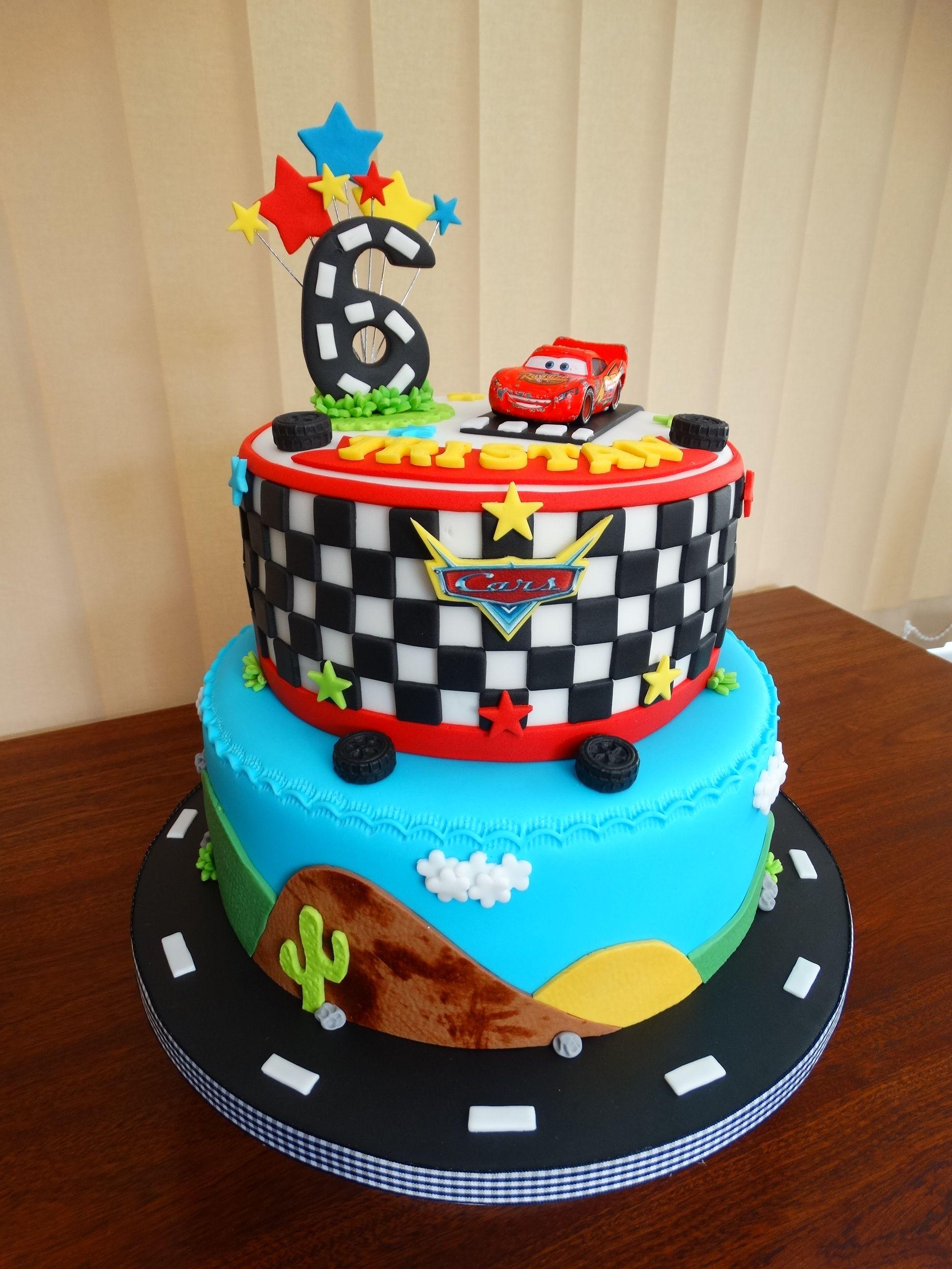 Disney Cars Cake Xmcx