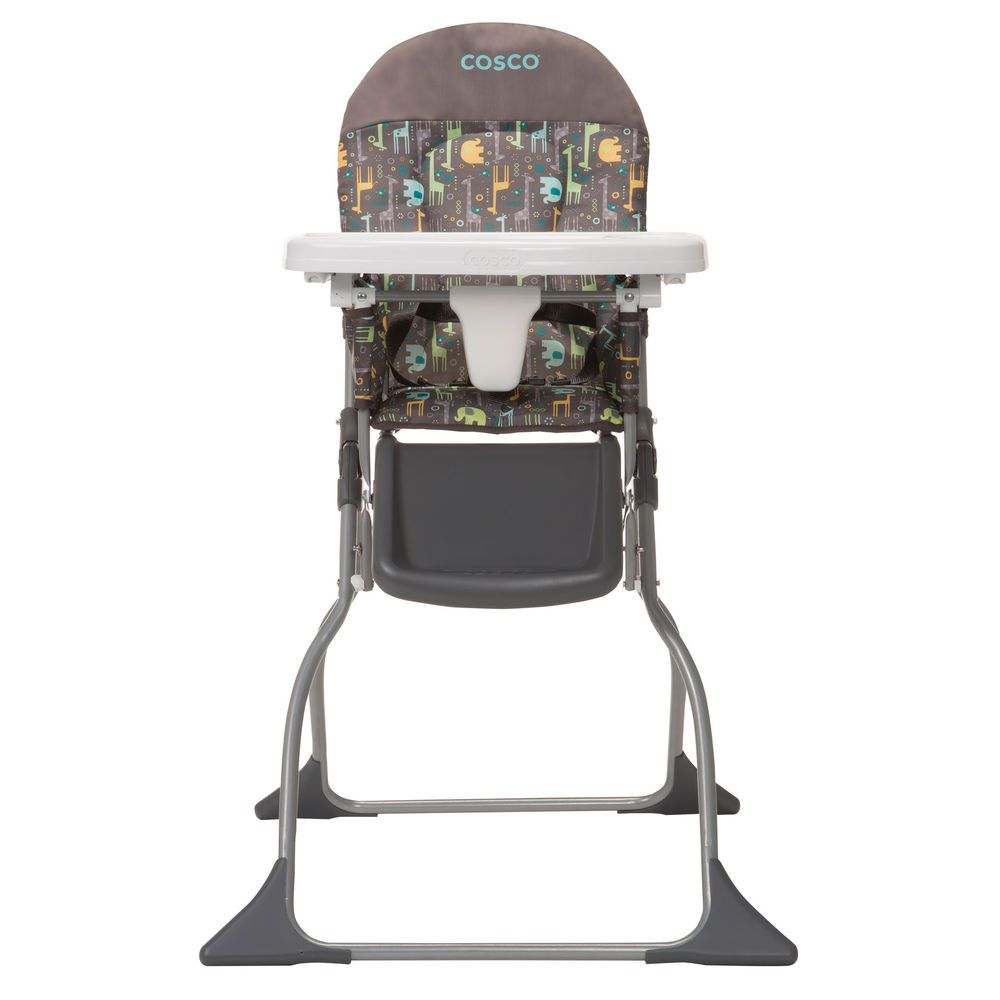 Baby High Feeding Chair Booster Seat Portable Folding Leg Rest Padded Sturdy New Babyfeedingchair