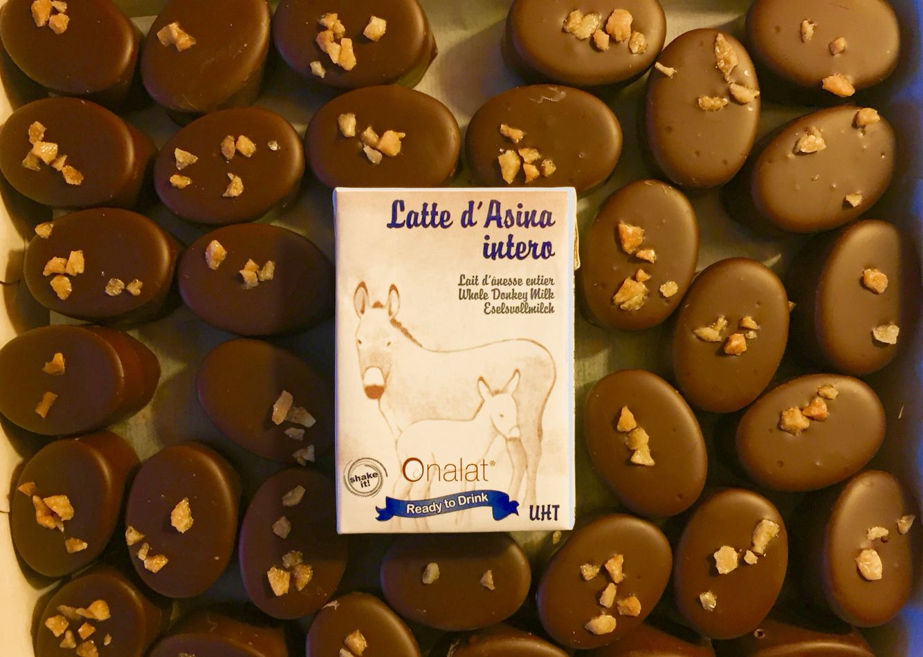 Swiss Chocolate with pure Donkey Milk by Eurolactis • Just ...