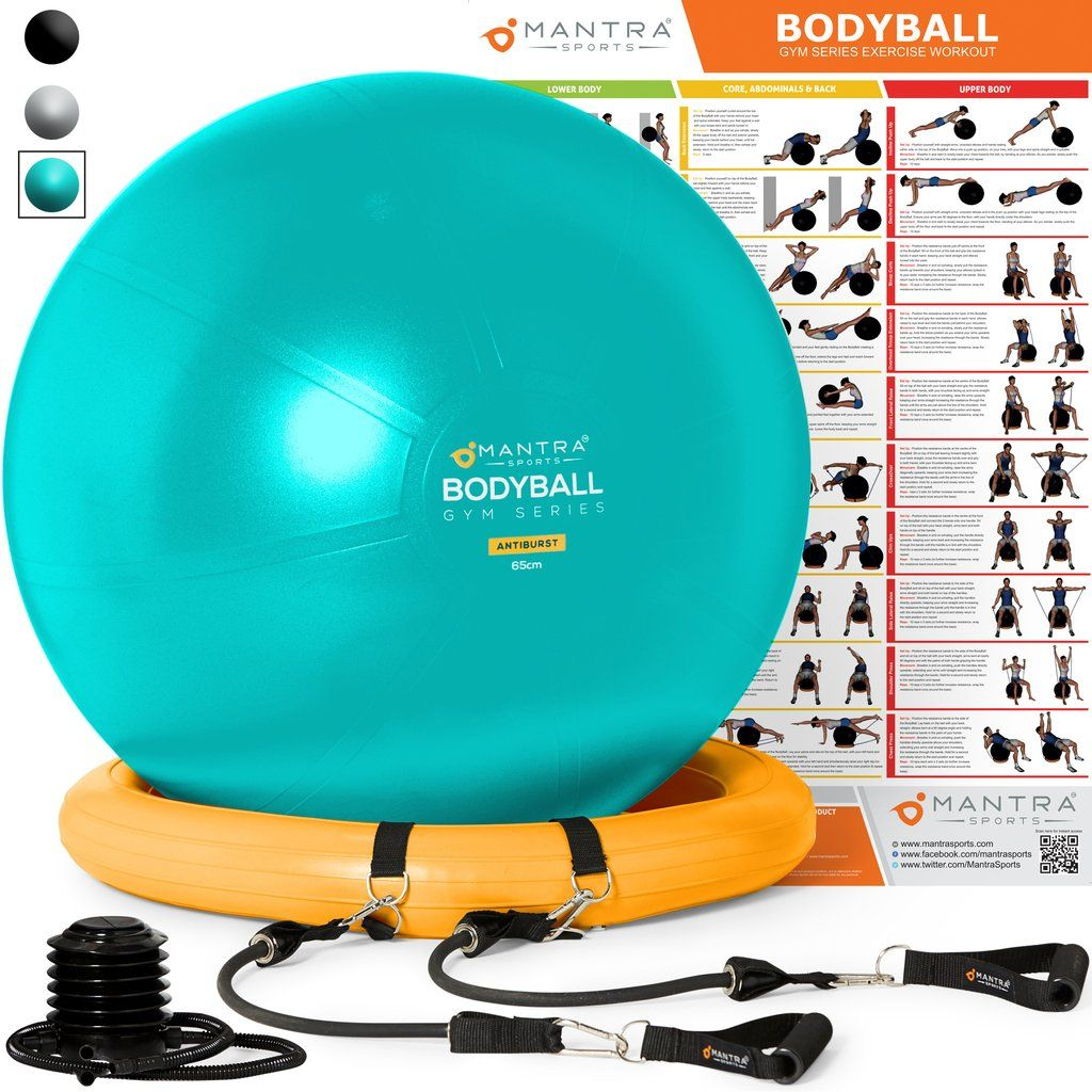 Exercise Ball Chair & Complete Home Gym System Improves
