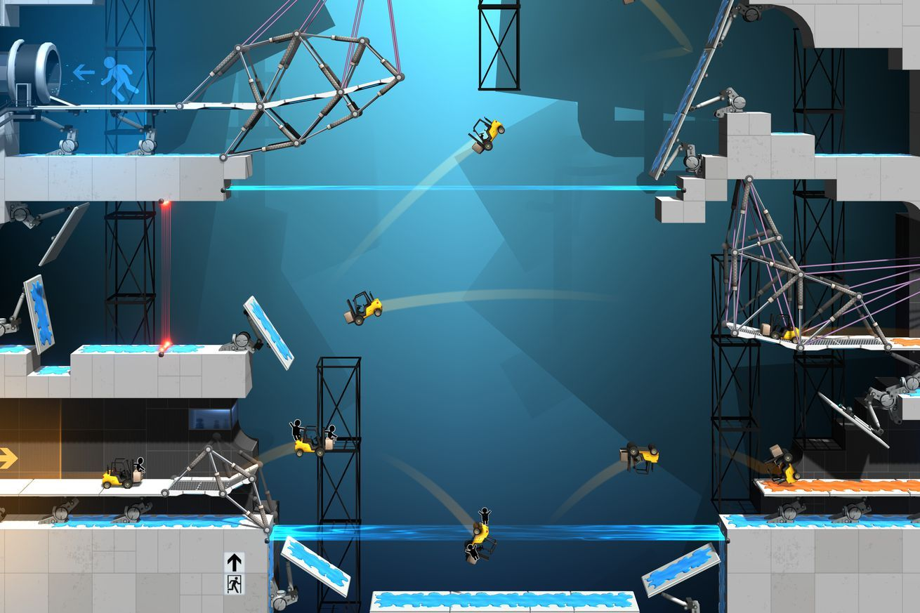 The next Portal game is a bridgebuilding simulator (With