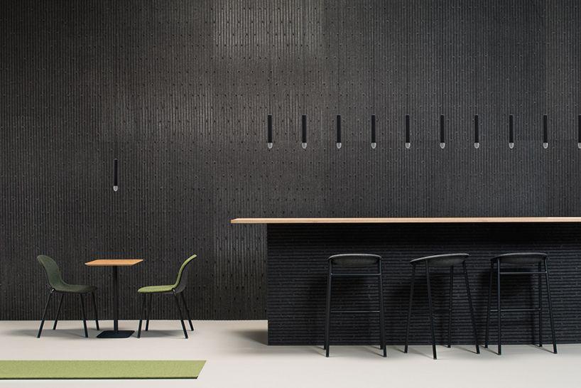 De Vorm Presents Visual Exploration Of Sustainable Pet Felt Products Furniture Chair Design Acoustic Wall