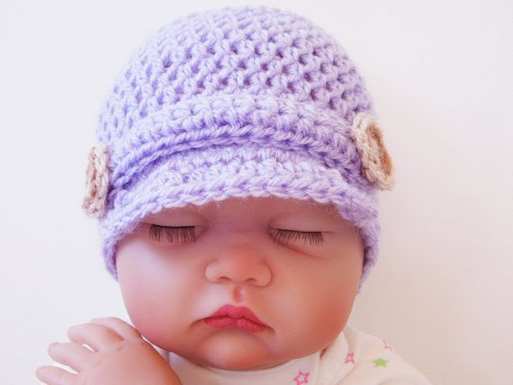 Newsboy Crochet Hat Pattern Going Home Outfit Coming Home Outfit