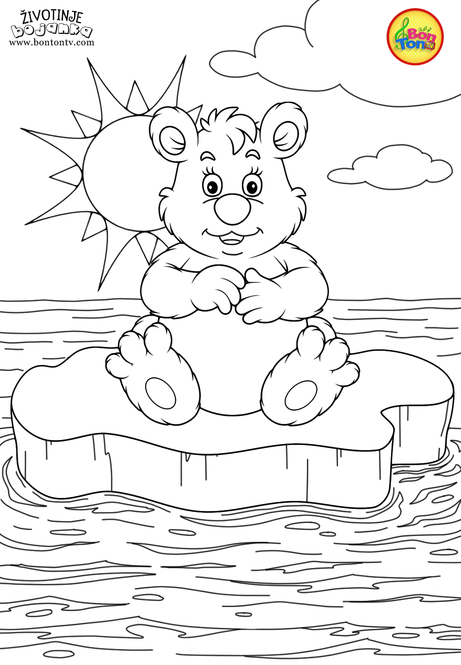 Animals Coloring Pages for Kids - Free Preschool Printables ...