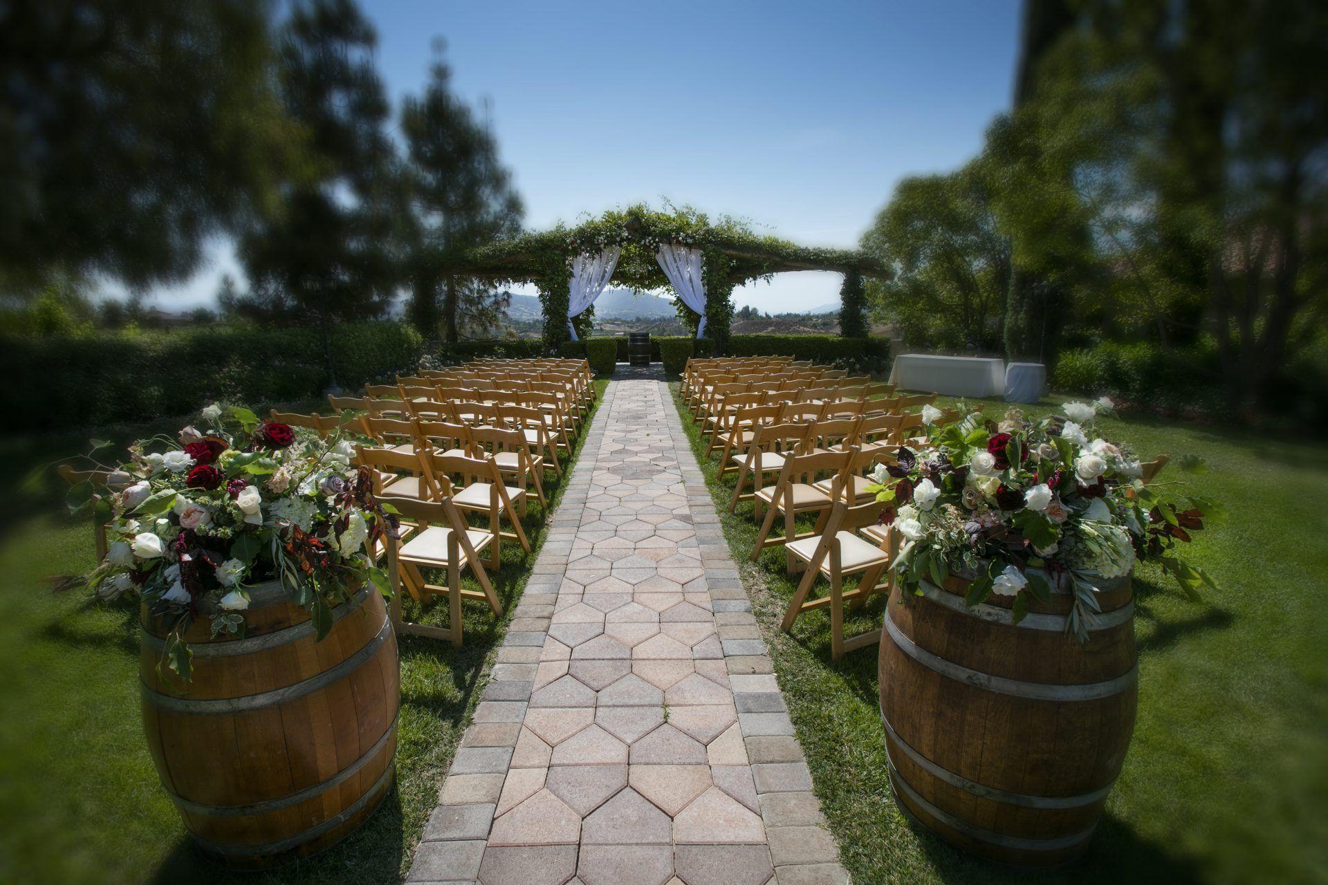Temecula Wedding Venues Vineyard wedding venues