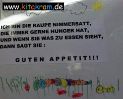Bon Tischsprüche Für Den Kindergarten | Kitakram.de