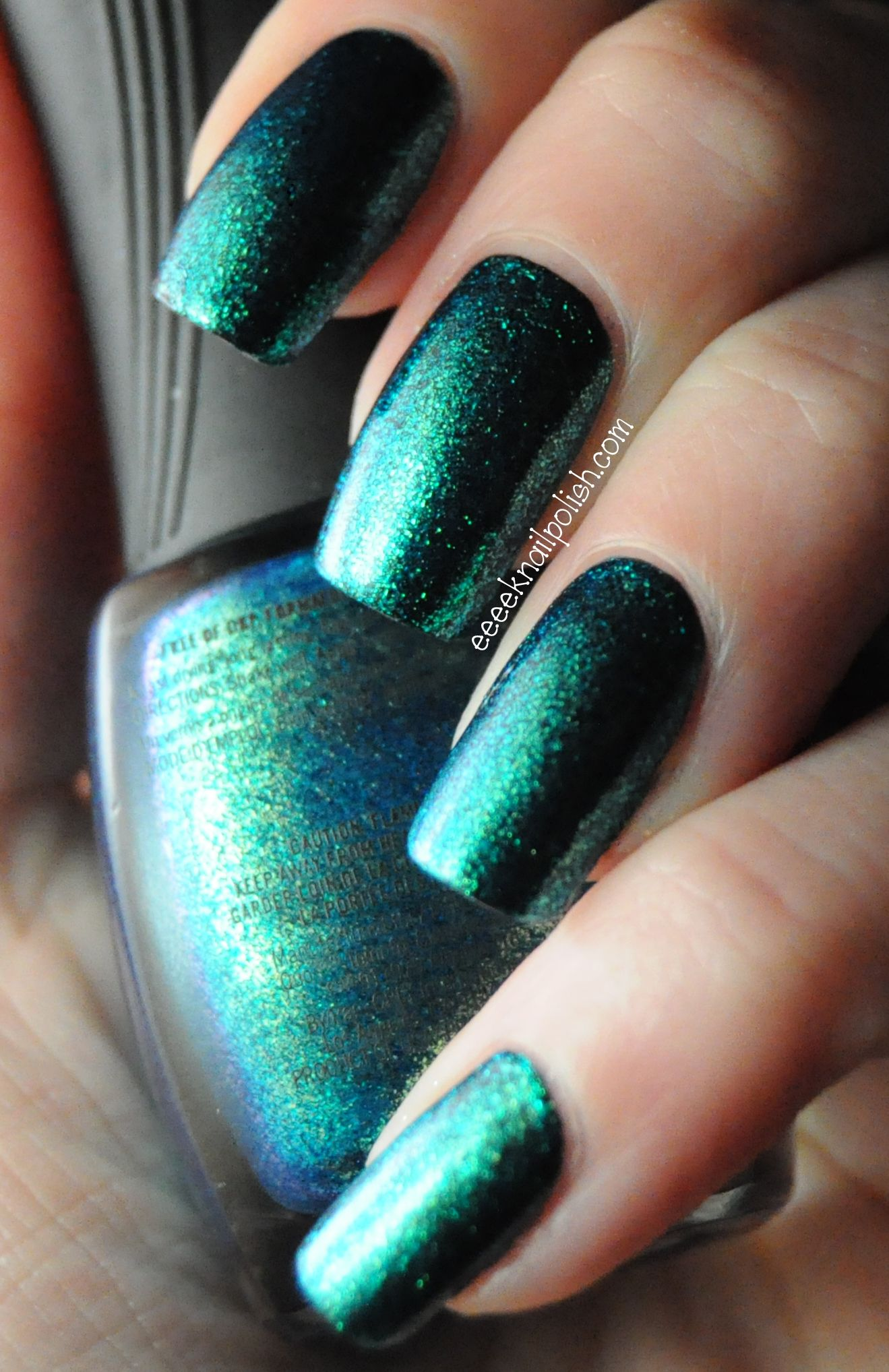 Quo By Orly - Turquoise Moonlight (wish they had this in the US ...