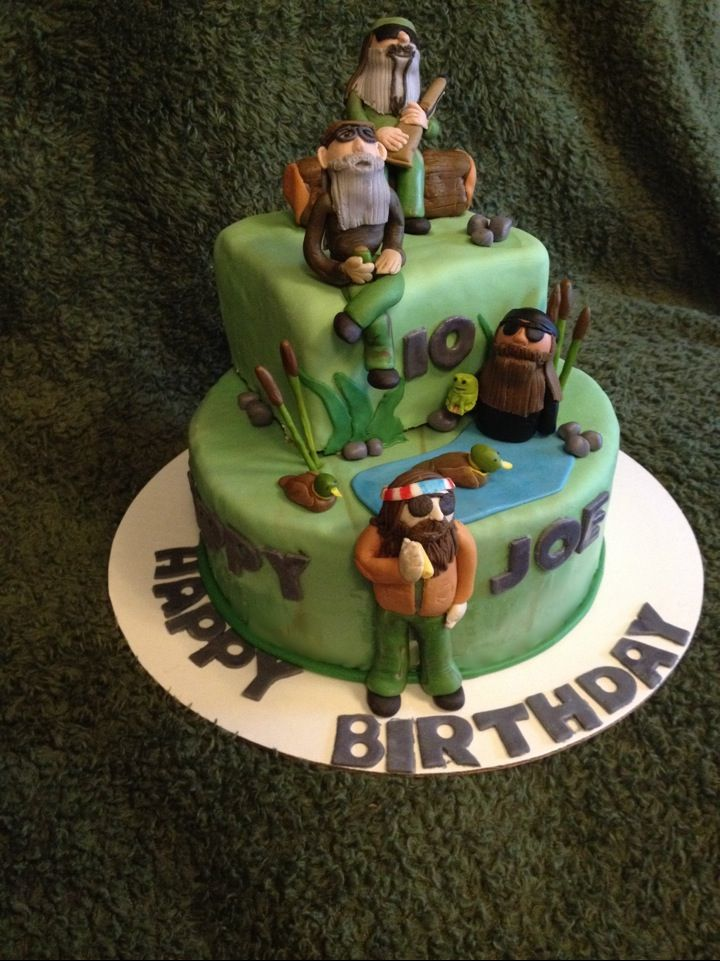 Duck Dynasty cake, Made By Lindsey Davis