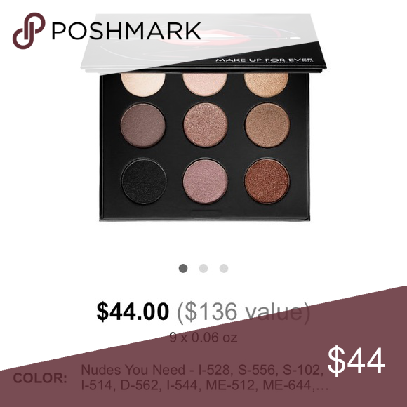 Makeup Forever Cost me $44 online Makeup Eyeshadow