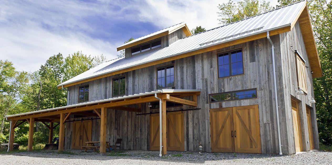 Reclaimed Barn Siding Design Gallery Barn Style House Barn Siding Garage Exterior