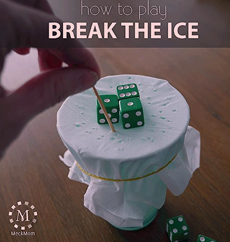 Photo of How to play the game Break the Ice