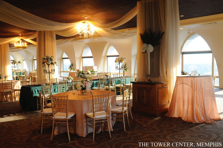 Wedding at The Tower Center Memphis wedding venue
