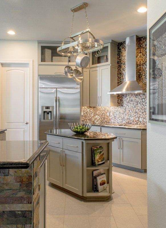 Lacquered Grey Kitchen Cabinets In Sw Repose Gray Paper Moon