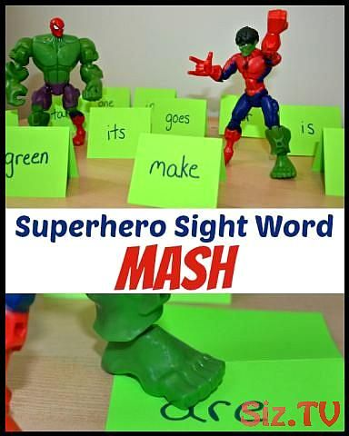 Superhero Sight Word Mash Superhero Sight Word Mash This Post Is Written As Part Of A Compensated Campaign From Marvel Super Hero Mashers As Part Of The Mom It Forward Blogger Network Learning Sight Words Is Fun With The Addition Of Superheroes Superhero Sight Word Mash Kindergarten Super Hero Lovers Will Love