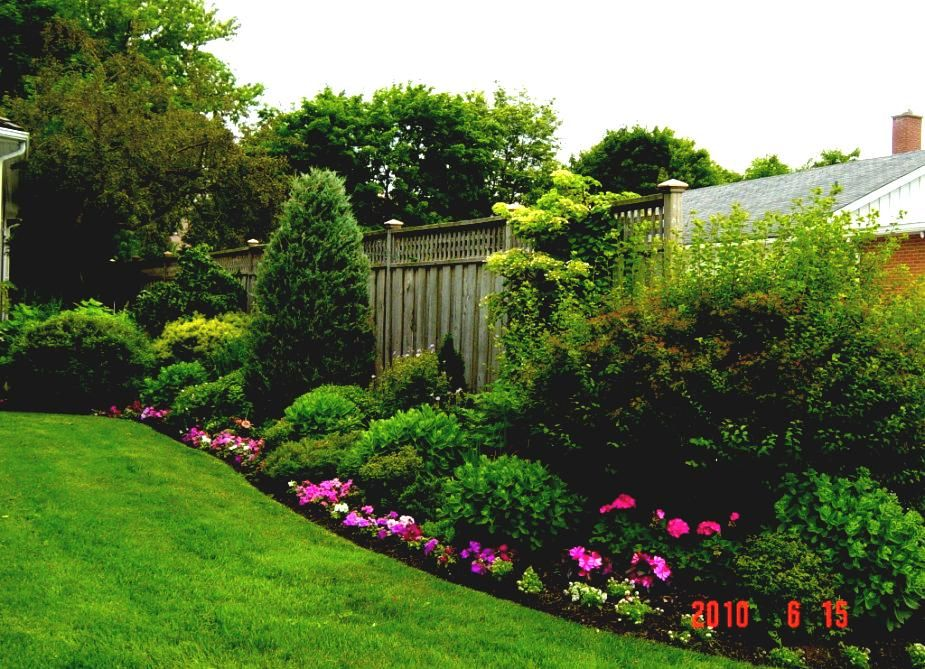 artistic garden design | Garden Flower Beds Landscaping Gardening Ideas Backyard With Flowers ...