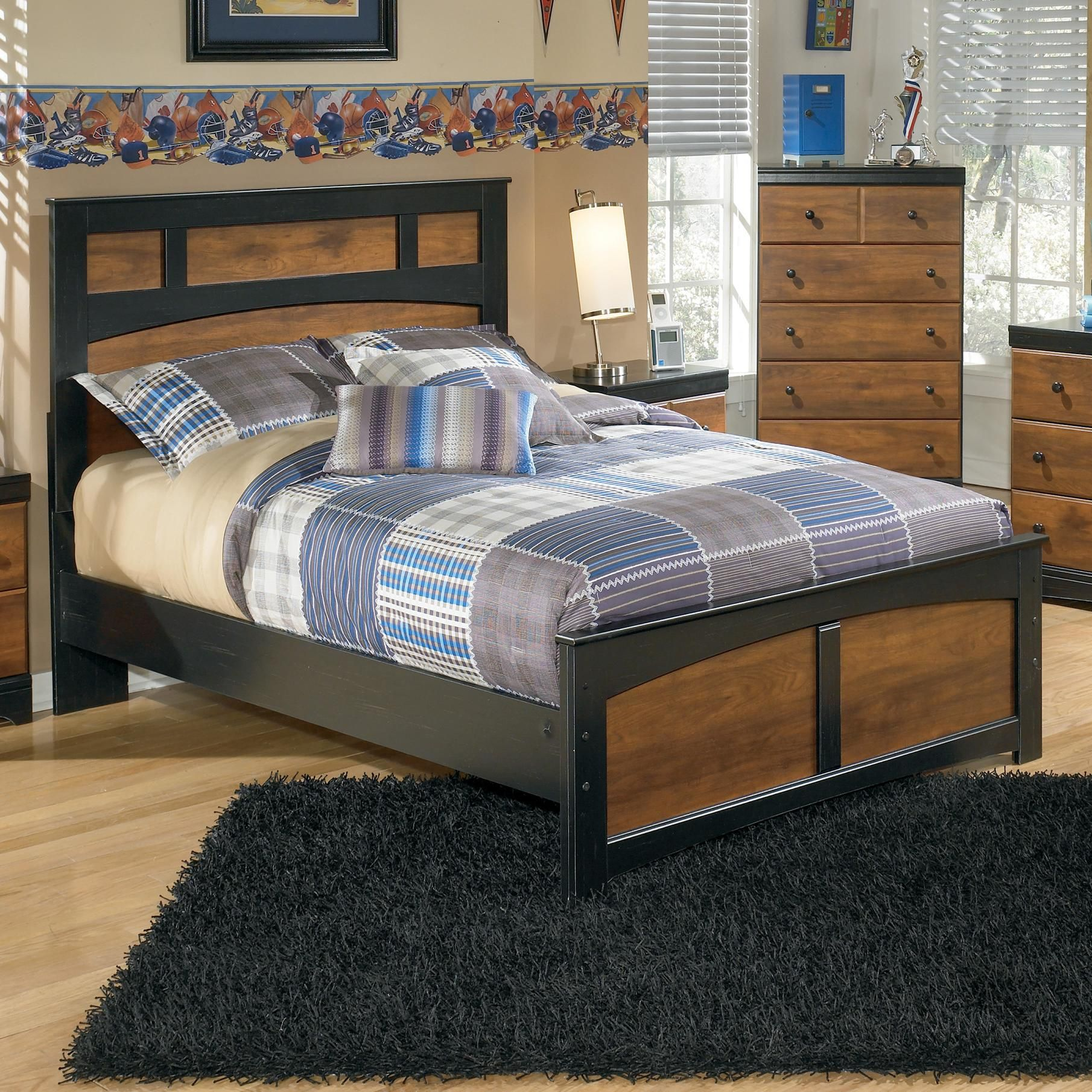 Aimwell Full Platform Bed by Signature Design by Ashley