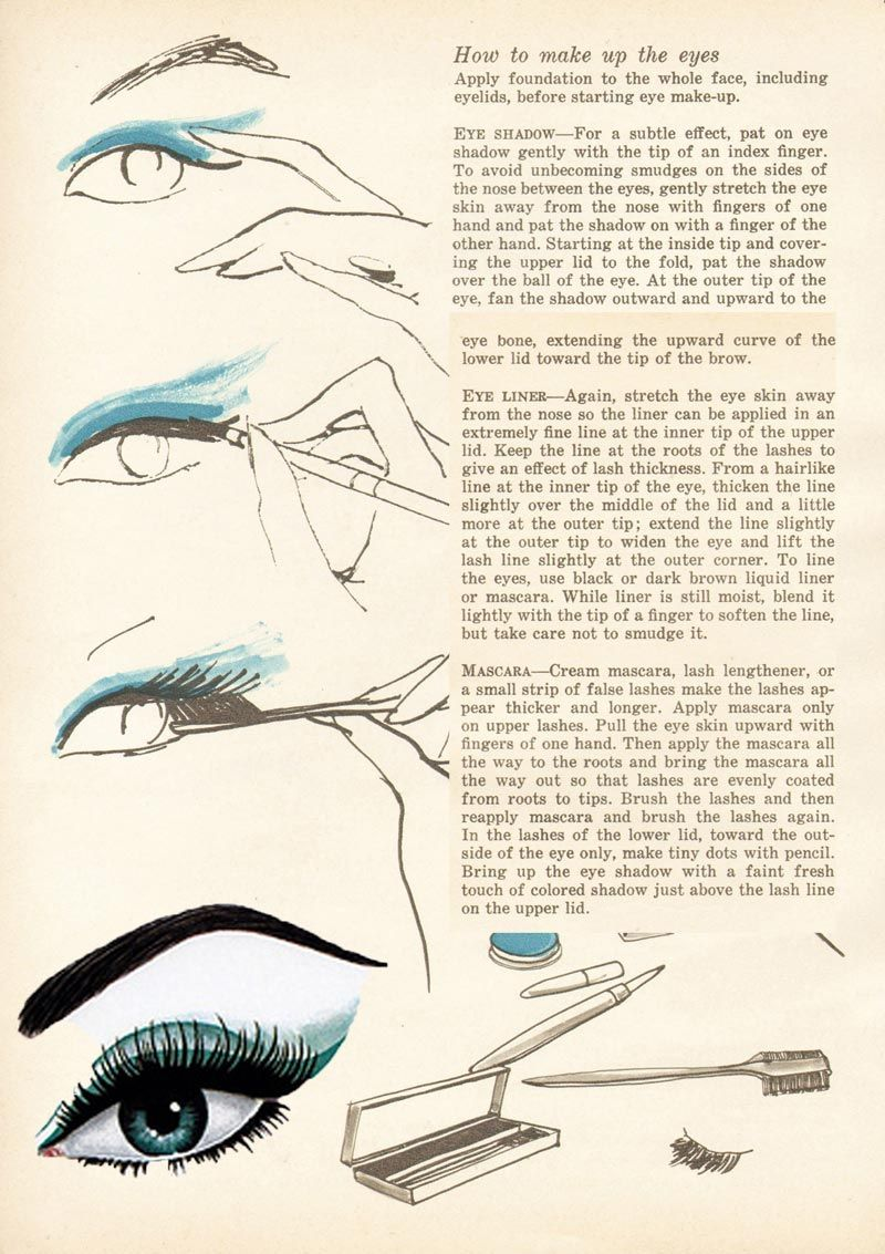 How to 1960's eyes