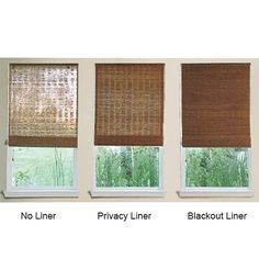 Product Details For Woven Wood Shades Roman From Select Blinds