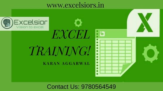 If you are looking best #exceltraining institute in India - business modelling using spreadsheets