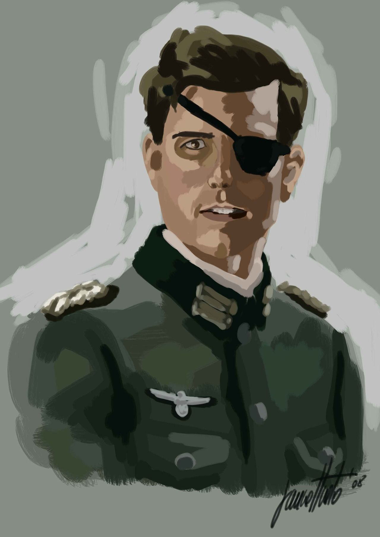 Tom Cruise In Valkyrie 2008 Tom Cruise Movie Artwork Profile Picture