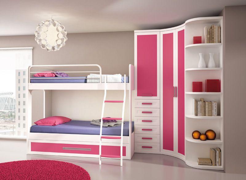 Muebles   Dormitorio juvenil Crea 2   Belleza   Pinterest   Muebles ...