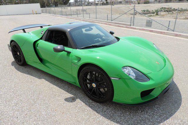 Viper Green Porsche 918 Spyder For At 1 999 Gtspirit