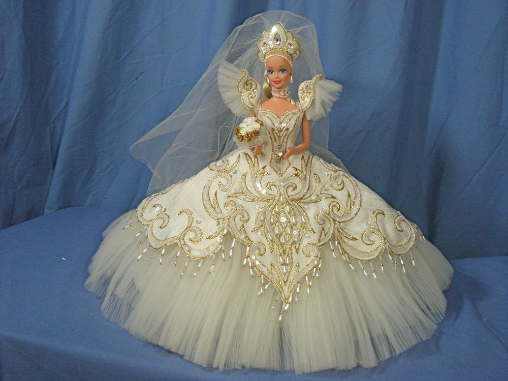 GL-Bob MAckie Barbie Doll-   1992 Empress Bride