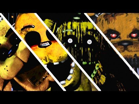 Five Nights At Freddy S 1 2 3 4 All Jumpscares All Fnaf Series Jumpscares Five Nights At Freddy S Fnaf Five Night