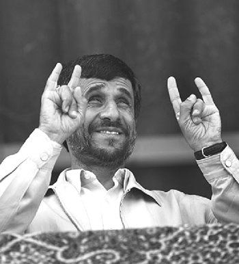 Image result for world leaders showing the devils horn sign