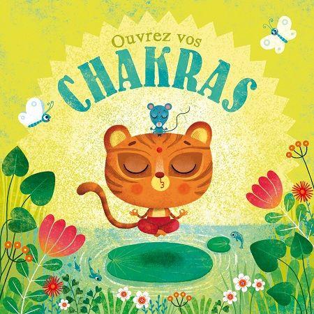 Carte Chakras + enveloppe - Editions de mai - 14 x 14 cm - Bureau/Carterie - espritlogis-fr
