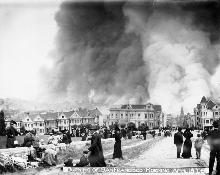 Землетрясение в Сан-Франциско 1906 года | 584x735