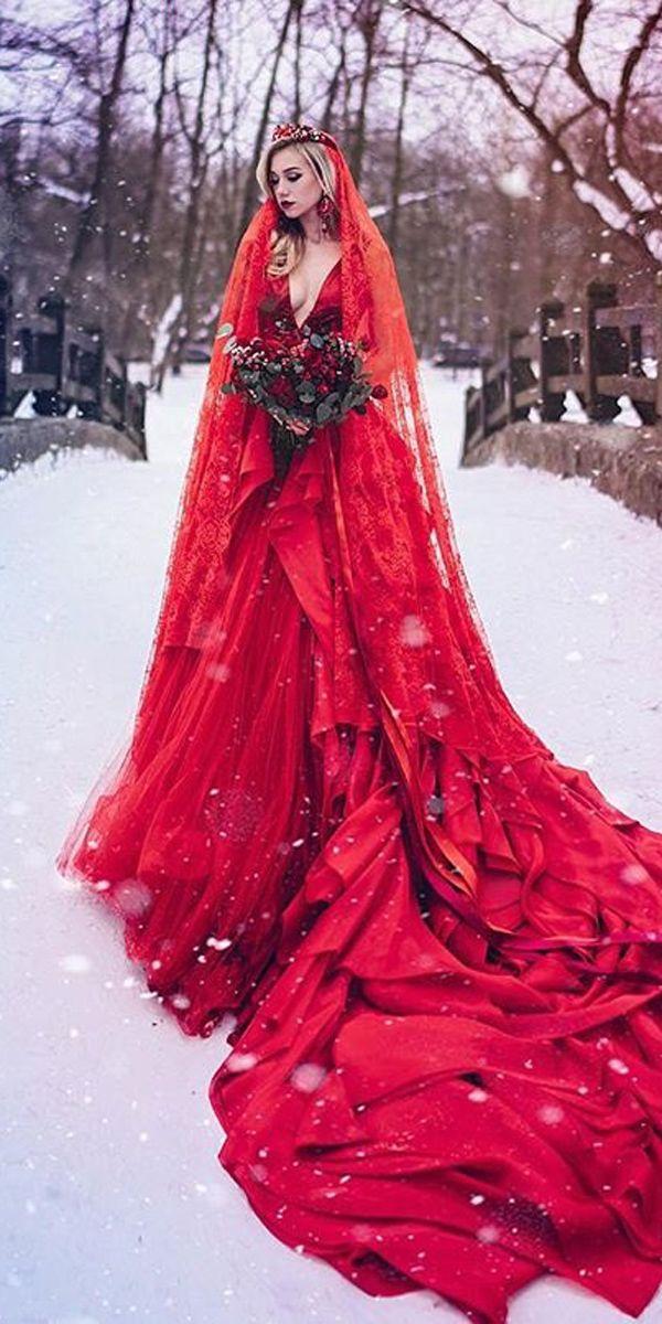 Ziad Nakad Haute Couture Fall/Winter 2015 Red wedding