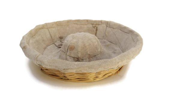Vintage FRENCH Bread Loaf Basket. by LeBonheurDuJour on Etsy
