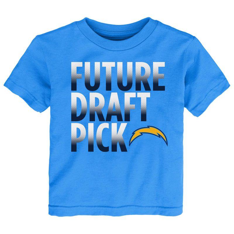 Los Angeles Chargers Preschool Future Draft Pick T-Shirt - Light Blue