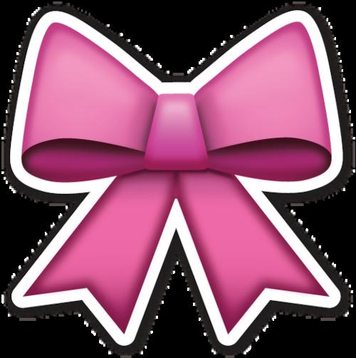 Imagen De Emoji Bow And Pink Emoji Stickers Emoji Emoji Drawings