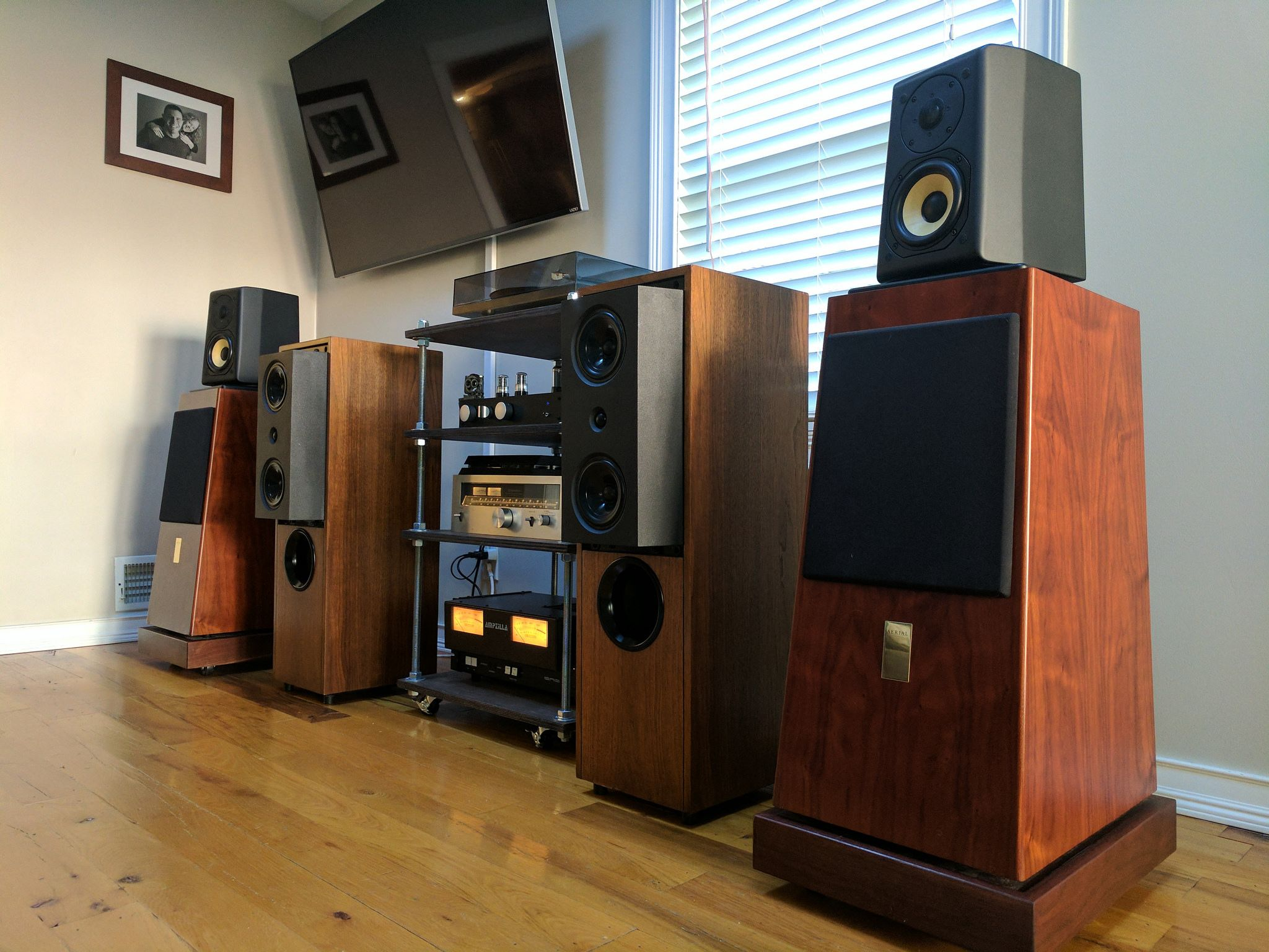Aerial Acoustics 10T and KEF Reference 104/2 in 2019 | klipsch