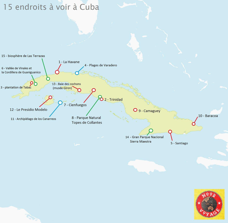 carte de tourisme cuba | ZZ_VOYAGE | Pinterest | Voyage and