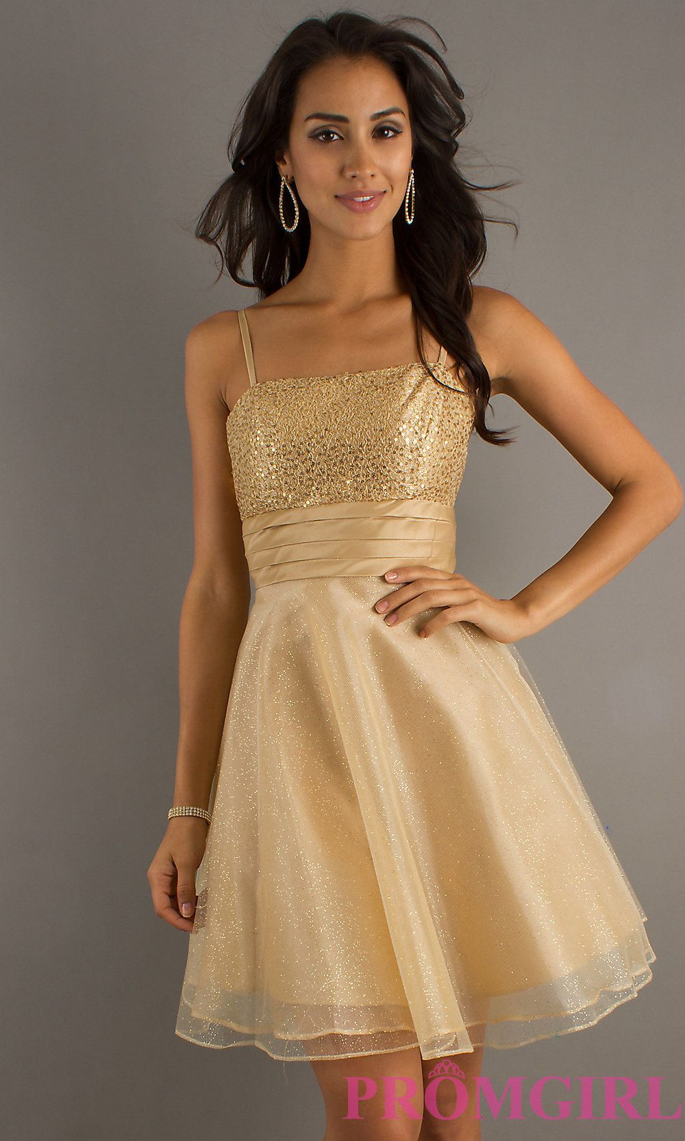 34740bed071 Short Prom Dress Style  DQ-7730 Detail Image 3
