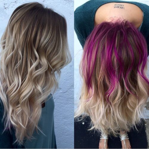 Get Crazy Creative With These 50 Peekaboo Highlights Ideas Hair Motive Hair Motive In 2020 Peekaboo Hair Hair Color Pastel Peekaboo Hair Colors