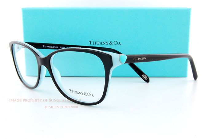 92897df5ad7 Brand New Tiffany Eyeglass Frames 2097 8055 Black SZ 54 Women 100% Authentic   Tiffany
