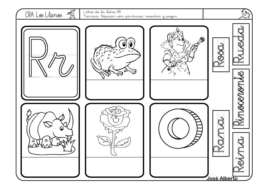 Actividades De La Letra R Para Preescolar Buscar Con Google Actividades De Letras Actividades Con La Letra R Fichas