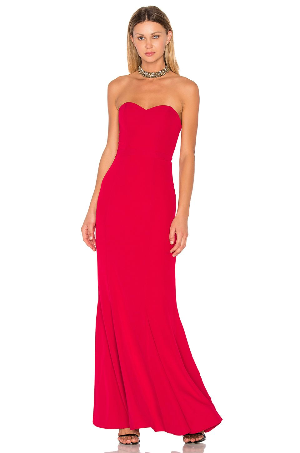 Lovers friends x revolve christy gown in red revolve red